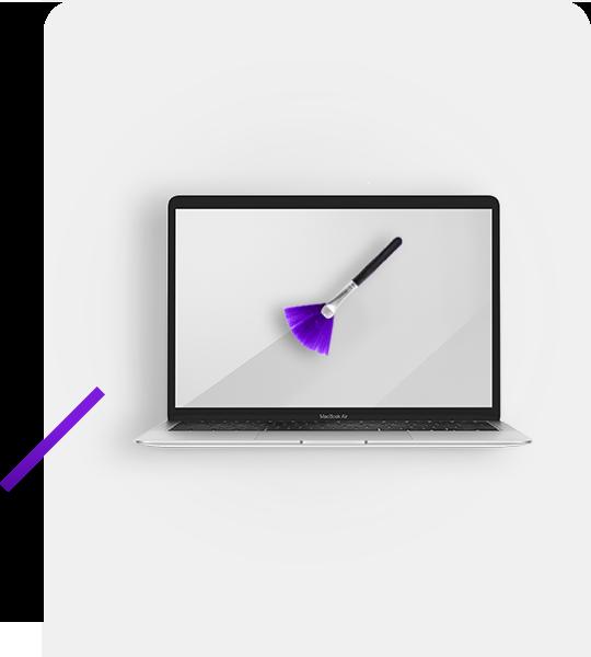 Czyszczenie MacBook'a